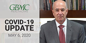 May 6: COVID-19 Update with President and CEO, John B. Chessare, MD, MPH