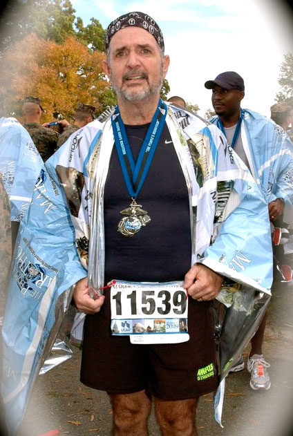 The Marine Corps Marathon in 2009 was the first marathon I ran after having gastric bypass surgery at GBMC