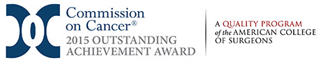 Commission on Cancer - 2015 Outstanding Achievement Award