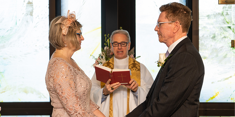 Wedded Bliss for Grateful Patients at GBMC's Chapel