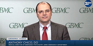 Dr. Anthony Chico Discusses the Stress of Dealing with COVID-19