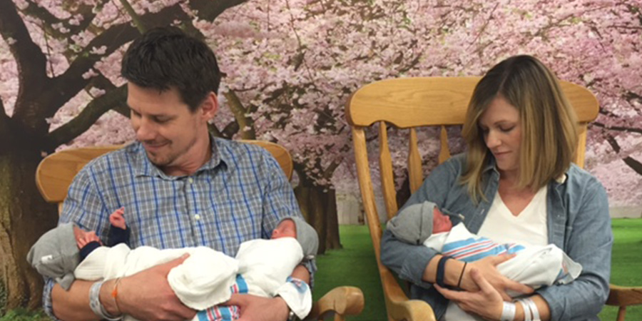 Baltimore Couple Becomes Family of Five after Birth of Rare Identical Triplets