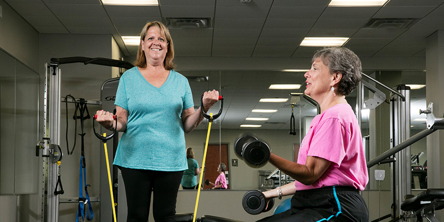Cancer Survivors Confront Weight Gain Together