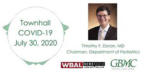Dr. Doran Discussing COVID-19 and Children's Safety on WBAL News Radio