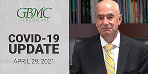 April 29: COVID-19 Update with President and CEO, John. B. Chessare, MD, MPH