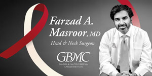 Ask an Oncology Expert with Dr. Farzad Masroor