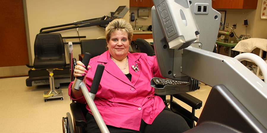 RENEWED HOPE: GBMC's Lymphedema & Rehabilitation Center Provides Answers, Gives Second Chances
