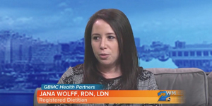 Jana Wolff, RDN, LDN, discusses New Year's Resolutions on Midday Maryland