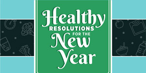The Easiest Ways to Meet Your New Year's Resolutions - Infographic