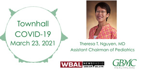 Dr. Theresa Nguyen WBAL COVID-19 Townhall - March 23, 2021