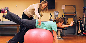Physical therapy with a personal touch