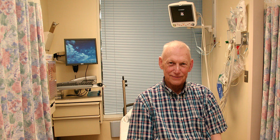 Preventive Procedure Helps Patient Rest Easy