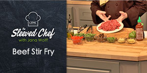 Beef Stir Fry -- The Sleeved Chef with Jana Wolff