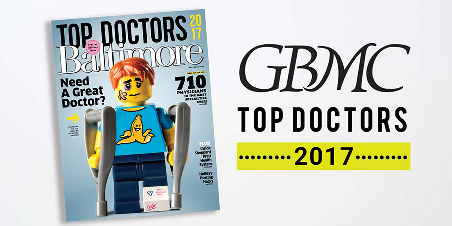 GBMC Physicians Earn Baltimore Magazine's Top Docs Honors for 2017